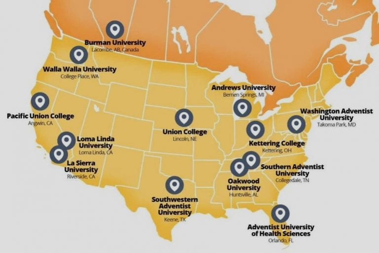 Adventist Colleges and Universities in North America